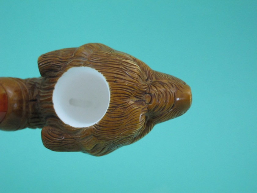 RED BROWN GRIZZLY BEAR Tobacco Smoking Meerschaum Pipes on PopScreen